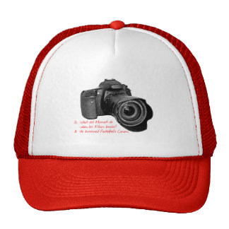 Pachelbel's Camera Cap