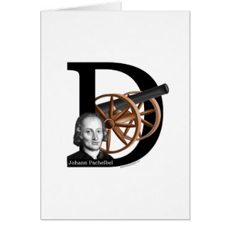 Pachelbel's Canon in D Card