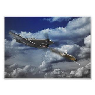Pacific Battle Photographic Print