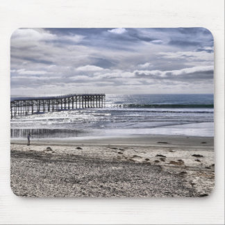 Pacific Beach Pier Mouse Pad