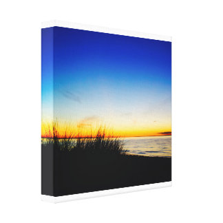 Pacific Coast Beach Canvas Print