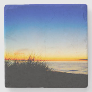 Pacific Coast Beach Stone Coaster