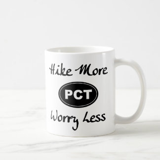 Pacific Crest Trail Hike More Worry Less Mug