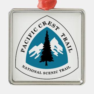 Pacific Crest Trail Metal Ornament