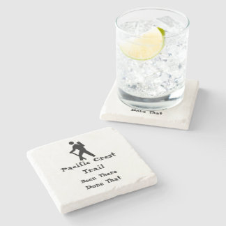 Pacific Crest Trail Stone Coaster