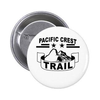 Pacific Crest Trail T-Shirt 6 Cm Round Badge