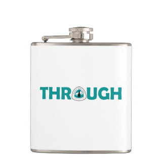 Pacific Crest Trail Through Hike Hip Flask