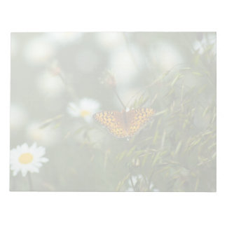 Pacific Fritillary Butterfly Notepad