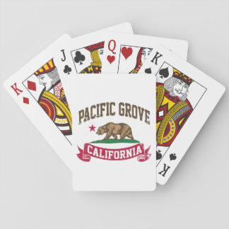 Pacific Grove California Playing Cards