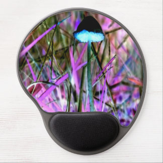 Pacific Northwest Cosmic Mushroom Gel Mouse Pad