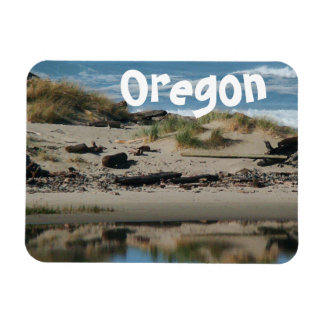 Pacific Northwest Ocean Beach Oregon Magnet
