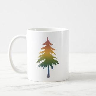 Pacific Northwest Rainbow Tree Mug
