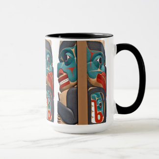 Pacific Northwest Totem Mug