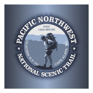 Pacific Northwest Trail Posters