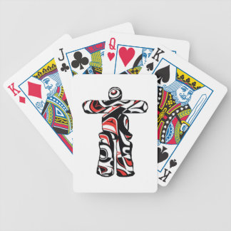 PACIFIC NORTHWESTERN EMBRACE BICYCLE PLAYING CARDS