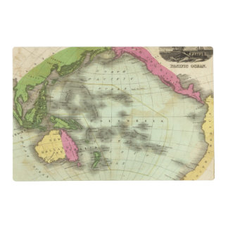 Pacific Ocean 6 Placemat