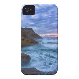 Pacific Ocean at Cape Kiwanda in Oregon USA iPhone 4 Cases