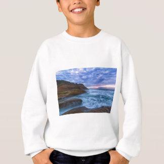 Pacific Ocean at Cape Kiwanda in Oregon USA Sweatshirt