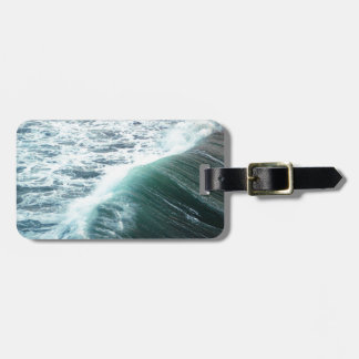 Pacific Ocean Blue Luggage Tag