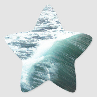 Pacific Ocean Blue Star Sticker