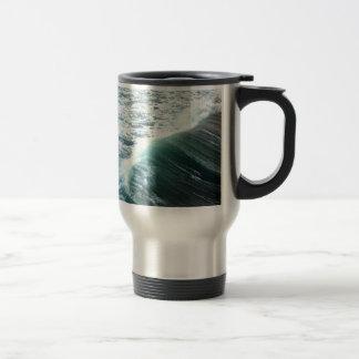 Pacific Ocean Blue Travel Mug