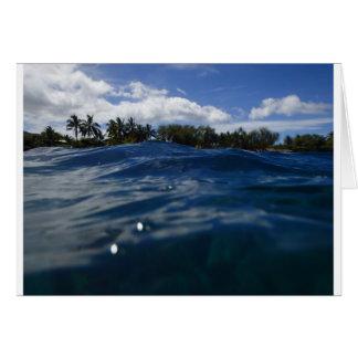 Pacific Ocean Maui Card