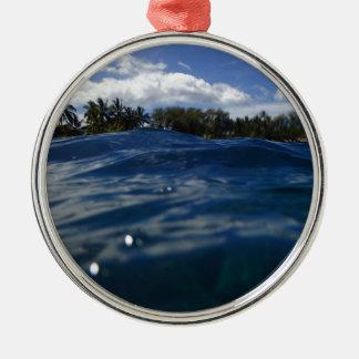 Pacific Ocean Maui Metal Ornament