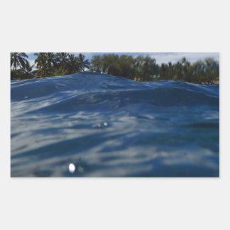 Pacific Ocean Maui Rectangular Sticker