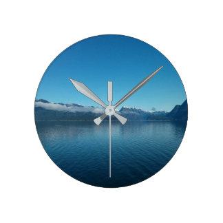 Pacific Ocean Round Clock