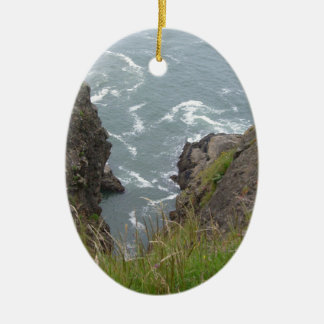 pacific ocean second ceramic ornament