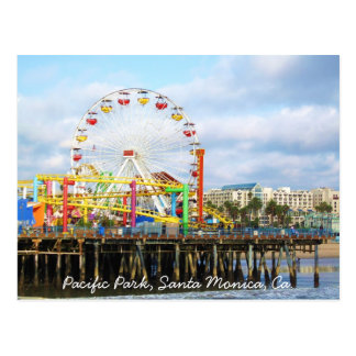 Pacific Park, Santa Monica, Ca. Post Cards