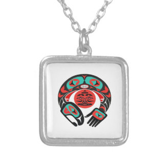 Pacific Pride Silver Plated Necklace