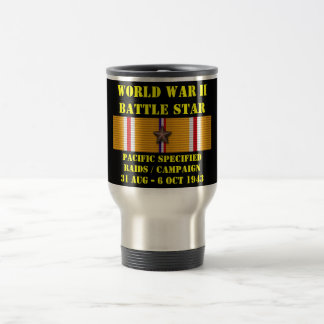 Pacific Specified Raids Campaign Stainless Steel Travel Mug