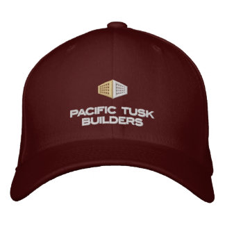 Pacific Tusk Builders Dark Apparel Embroidered Hat