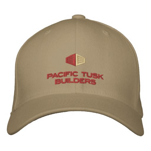 Pacific Tusk Builders Light Hats Embroidered Hat