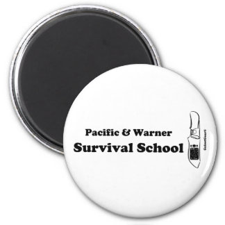 Pacific & Warner Survival School Magnet