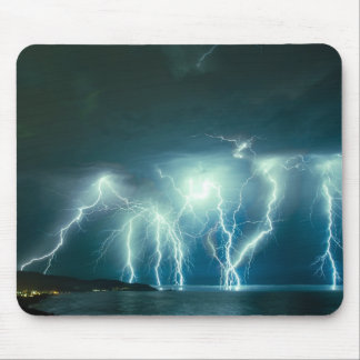 Pacifica lightnig show mouse pad