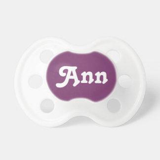 Pacifier Ann