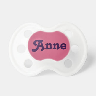 Pacifier Anne