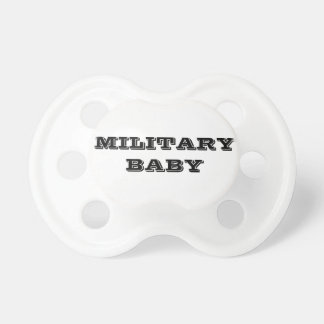 Pacifier Military Baby