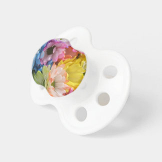 Pacifier - MultiColored Daisies II