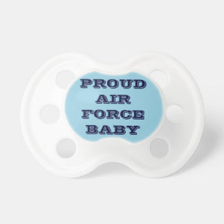 Pacifier Proud Air Force Baby