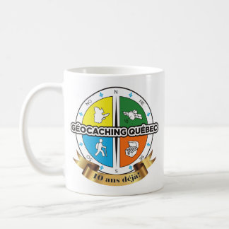 Pack 10th birthday of the AGQ Coffee Mug