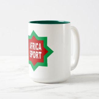 PACK    AFRICA SPORT Two-Tone COFFEE MUG