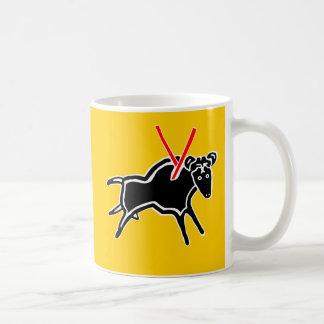 pack bull coffee mug