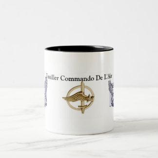 Pack Commando of the air Two-Tone Coffee Mug