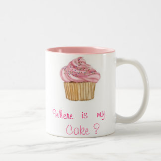 Pack Cupcake Pink Two-Tone Coffee Mug