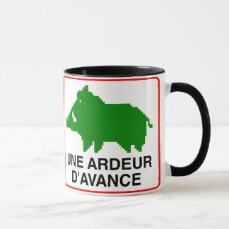 Pack - double a HEAT IN ADVANCE Mug
