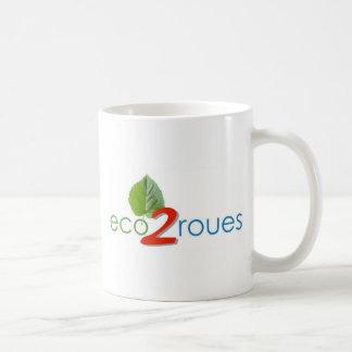 Pack eco -2 - wheels basic white mug
