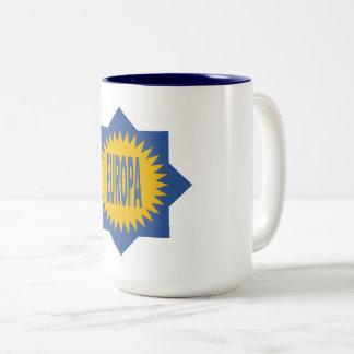 PACK EUROPA Two-Tone COFFEE MUG